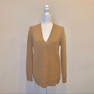 Forever 21 Camel Sweater